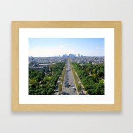 Avenue des Champs-Élysées Framed Art Print