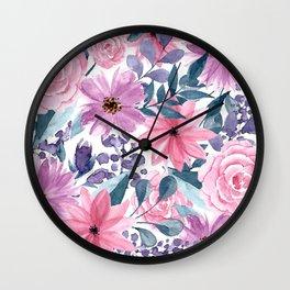 FLOWERS XII Wall Clock