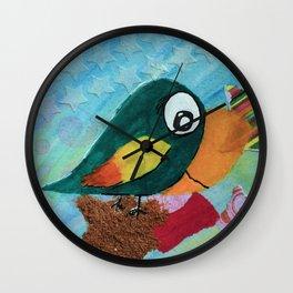Sven - Quirky Bird Wall Clock