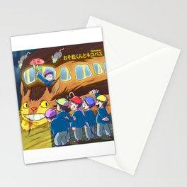 Osomatsu Kun and Neko Bus! 02 Stationery Cards