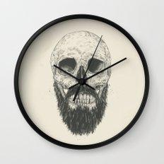 The beard is not dead Wall Clock
