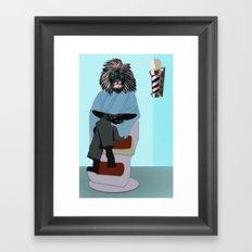 Barbary Mane Framed Art Print