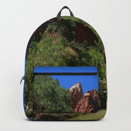 Along The Virgin River Backpack