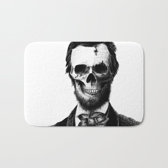 Abraham Lincoln Bath Mat