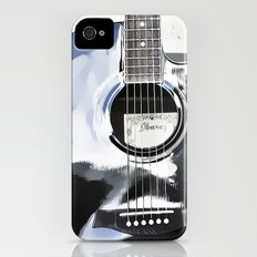 Be Your Song and Rock On in White II Slim Case iPhone (4, 4s)