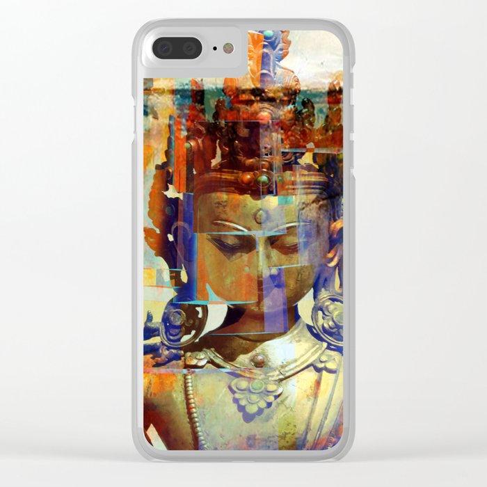 Dakini Wisdom Goddess #5 Clear iPhone Case