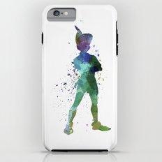Peter Pan in watercolor iPhone 6s Plus Tough Case