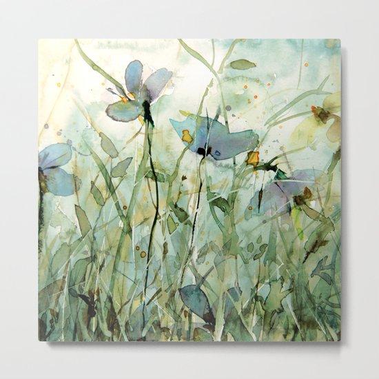 wild garden Metal Print