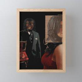 Do you see me now? Framed Mini Art Print