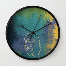 Notorious Nectarines Wall Clock
