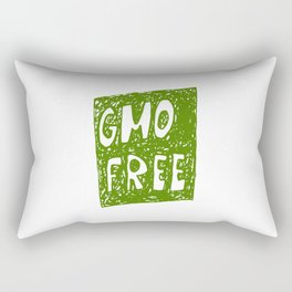 GMO FREE Rectangular Pillow