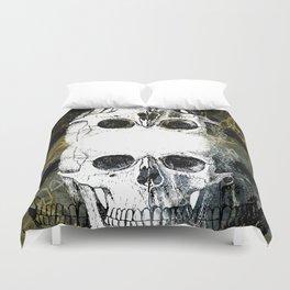 Skull Graffiti 1.0 Duvet Cover