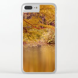 Autumn 53 Clear iPhone Case