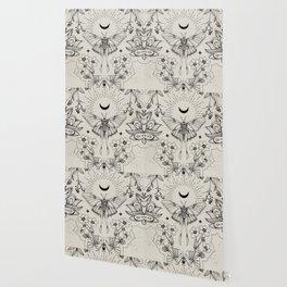 Bohemian Luna Moth Wallpaper