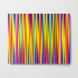 Lines 17 Metal Print