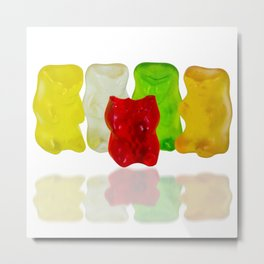 Losing My Mind (The Gummie Bears Photo Original) Metal Print
