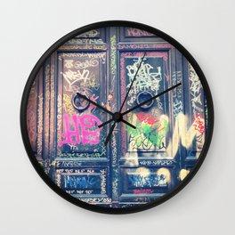 doors Wall Clock