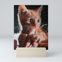 Playtime for Leo Mar Suerte Mini Art Print
