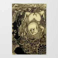 Weaving Canvas Print