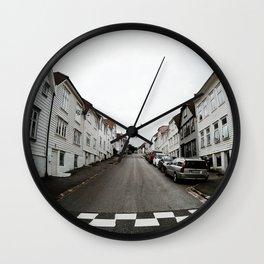 Symmetry of Bergen Wall Clock