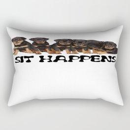 Sit Happens Rectangular Pillow