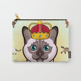 THE CAT KING Kitty Cat Carry-All Pouch