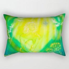 Zodiac sign Virgo 3 Rectangular Pillow