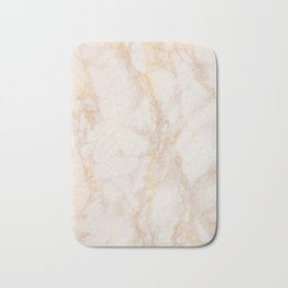 Gold Marble Natural Stone Gold Metallic Veining Beige Quartz Bath Mat