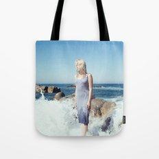 Ocean's Pulse Tote Bag