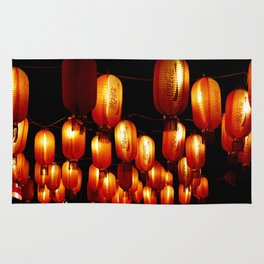 chinese paper lanterns Rug