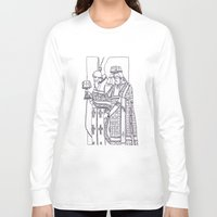 christian Long Sleeve T-shirts featuring Christian service by Shelby Claire