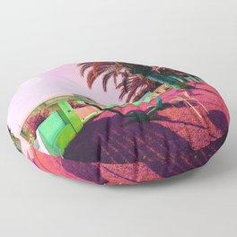 By the Beach Floor Pillow