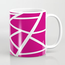 Pink Earthquake  Coffee Mug