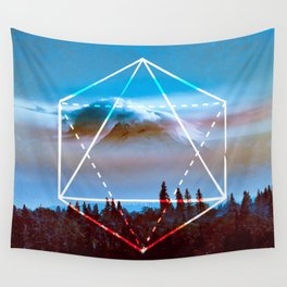 The Elements Geometric Nature Element of Air Wall Tapestry
