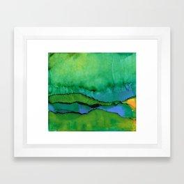 The Downpour Framed Art Print