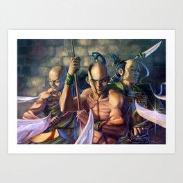 Defensive Formation Art Print