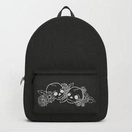 Twin Skeletons Noir Backpack