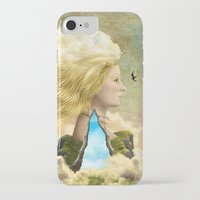 aurora iPhone & iPod Cases featuring Aurora by Diogo Verissimo