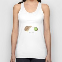 kiwi Tank Tops featuring Kiwi by EmT Notes