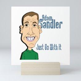 Adam sandler Mini Art Print