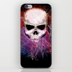 Colorful Skull iPhone & iPod Skin