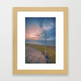 Lands End Cornwall Framed Art Print