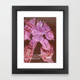 Transformers Victory / Star Saber Framed Art Print