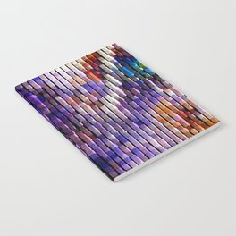 Abstract Patchwork Notebook
