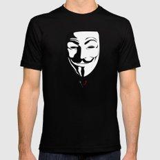 Vendetta MEDIUM Mens Fitted Tee Black