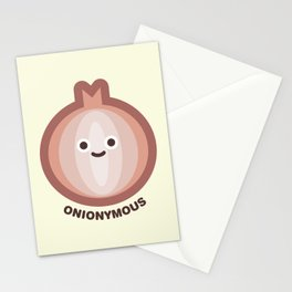 Onionymous Stationery Cards