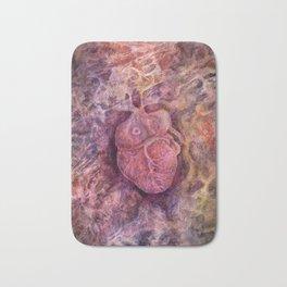 Heart Bath Mat