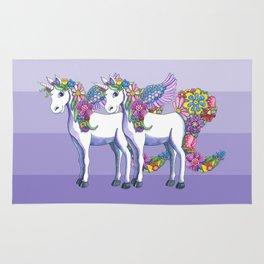 Unicorn Twins Rug