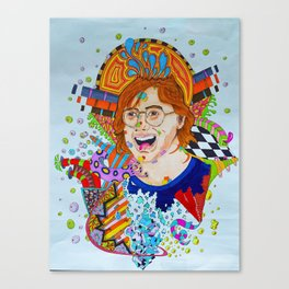 Trey's Mind Canvas Print