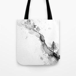 SNOW HILLSIDE Tote Bag